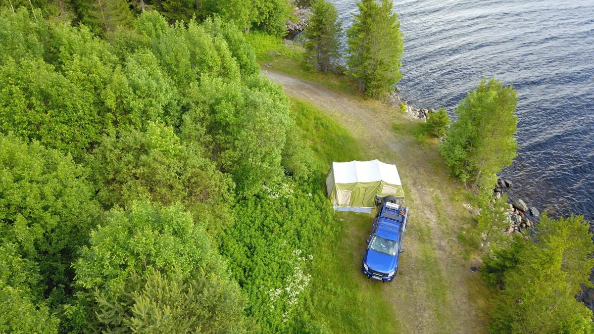 Offroadtrailer mit Ranger in Schweden