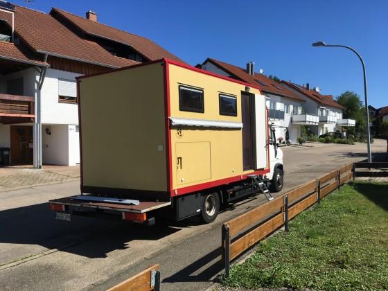 Vario mit Holzkoffer von VWBusman